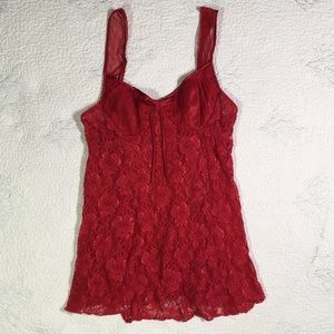 Red Lingerie by Enchanting good used condition